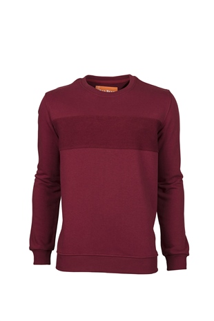 Forward Cn Bordo Bisiklet Yaka Sweatshirt